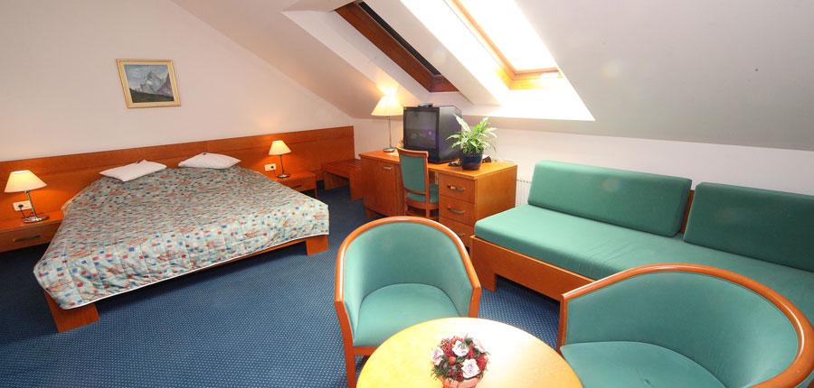 Best Western Hotel Kranjska Gora, Kranjska Gora, Slovenia - standard Attic bedroom interior.jpg